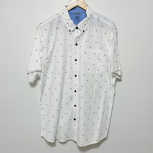 IZOD Saltwater  Relaxed Classic Buttoned Tee - XL